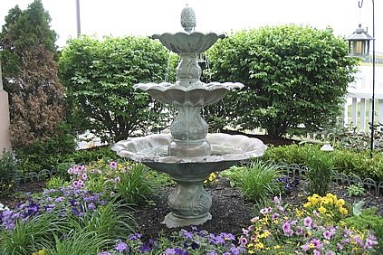 Landscape Planning - The love of a garden fountain