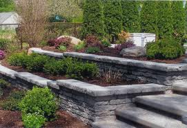 Hillside Landscape Retaining Wall